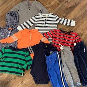 OshKosh B'Gosh Play Clothes Bundle